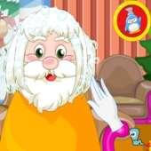 Санта Клаус: Прическа на Рождество