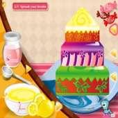 Цветочный торт: Украшение